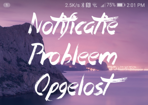 Notificaties in EMUI 5.0 OTA update